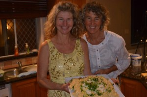 Join us for Raw Food Heaven Classes with Lyza Saint Ambrosena and Liz Gilbert Grant