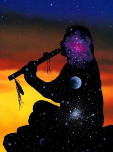 Lyza Saint Ambrosena and Guided Meditation with American Indian Flute