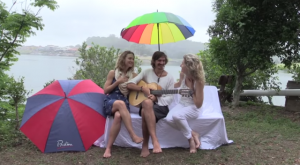 Meditation for healing the planet from Lyza while Lulu & Mischka are playing Guitar & singing.